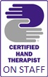 Certified Hand Therapist on Staff logo