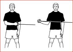 External Rotation shoulder strengthening